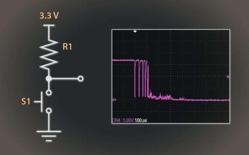 VHDL Code for Debounce Circuit in FPGA
