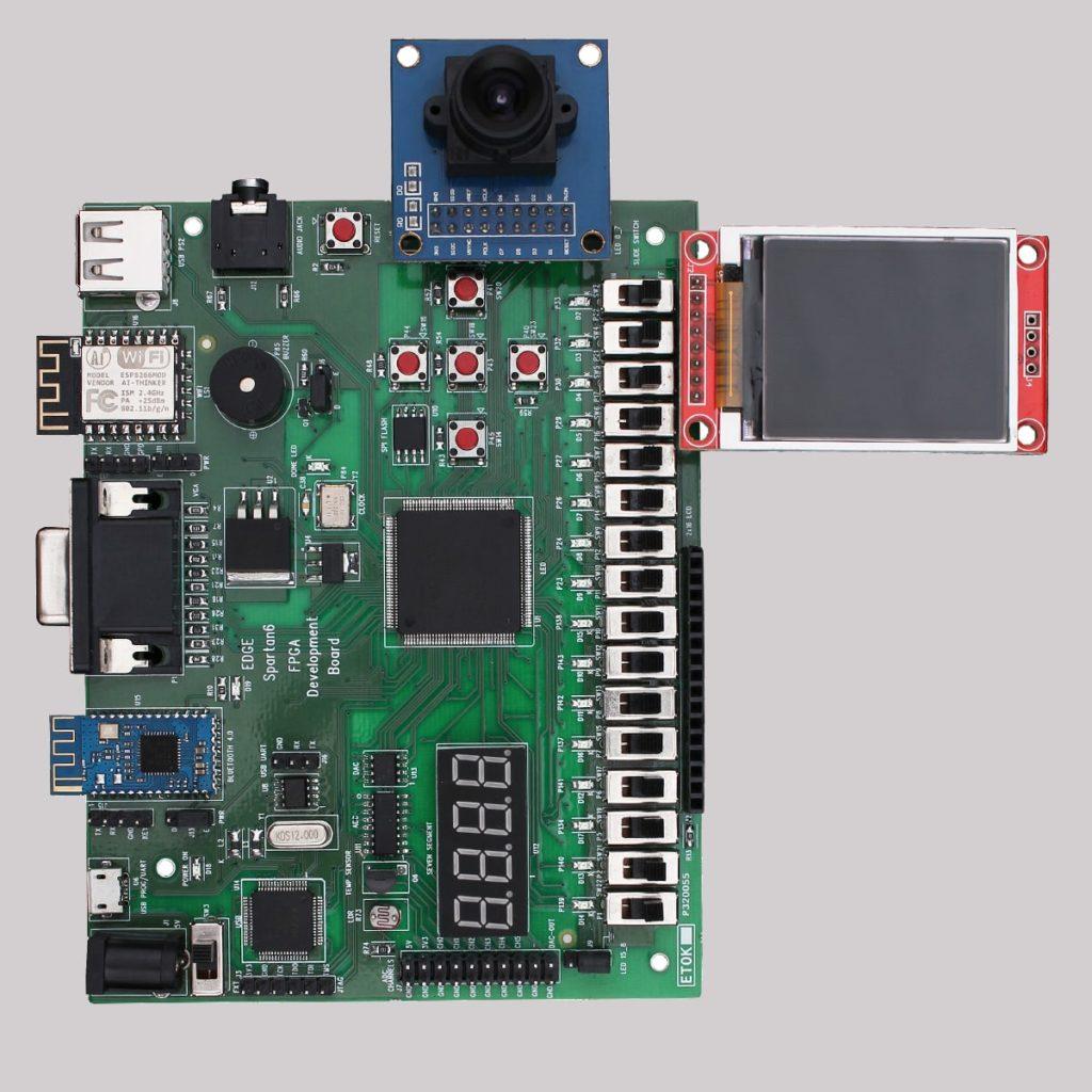 EDGE Spartan 6 FPGA Development Board 06