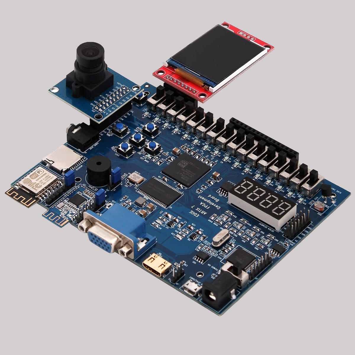 EDGE Artix 7 FPGA Development Board