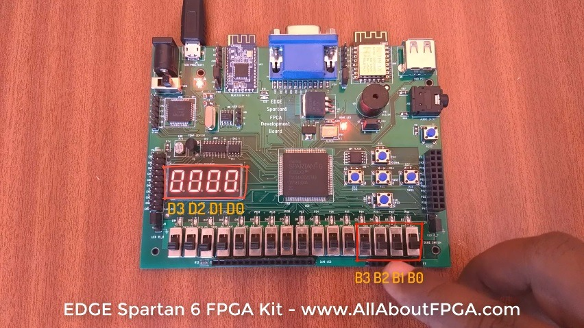 Tutorial 2: BCD to 7 Segment FPGA Implementation