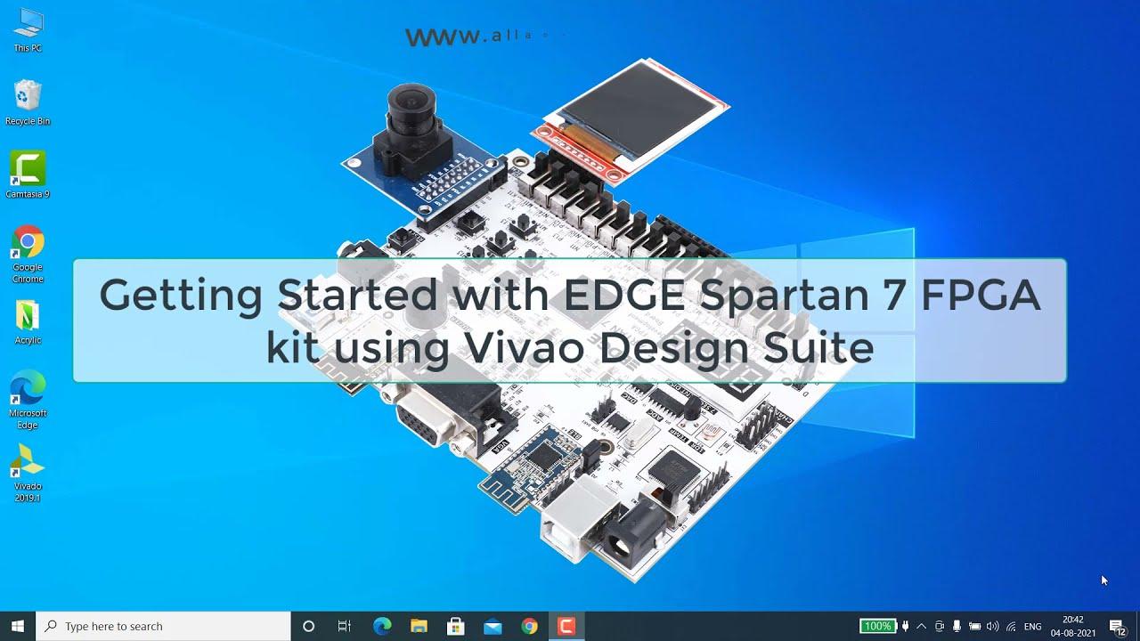 Learn FPGA: EDGE FPGA kits tutorial series